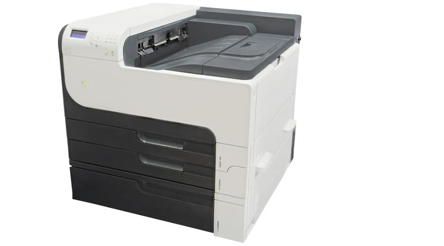 Dual Tray Printer Features